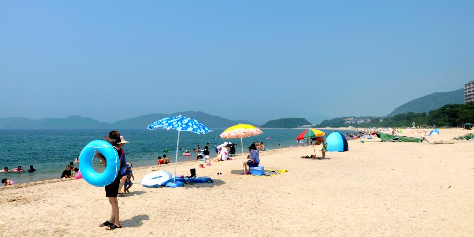 虹ヶ浜海水浴場・キャンプ場