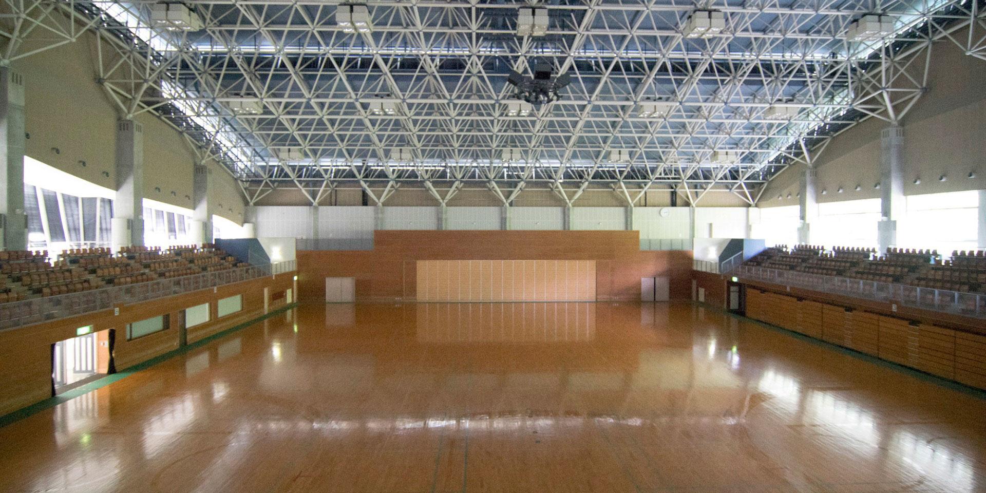 光スポーツ公園(光市総合体育館)
