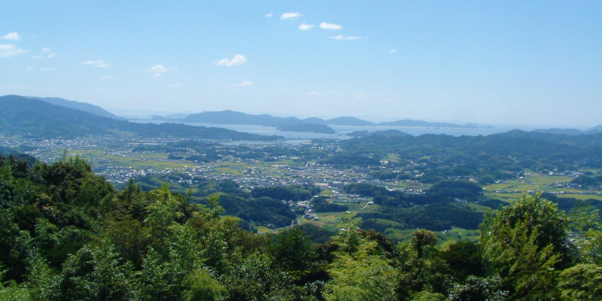 画像:石城山県立自然公園